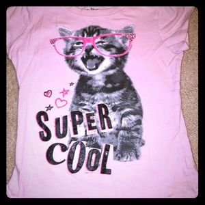 Girls Super Cool Mudd Shirt 6x